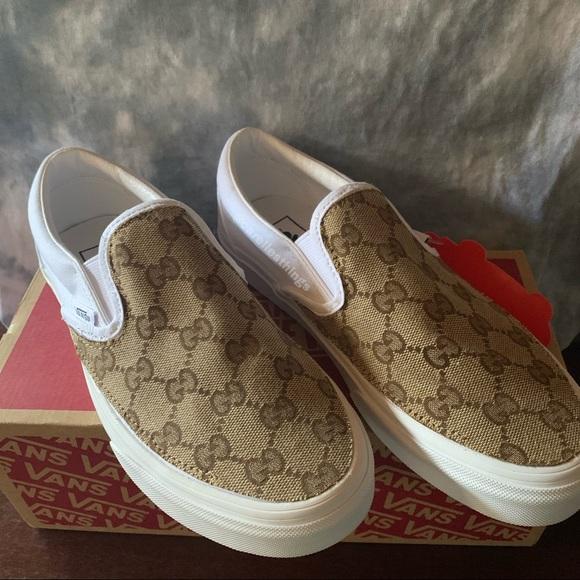 Custom Gucci Slip On Vans | Poshmark